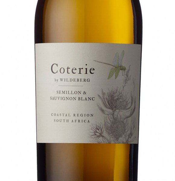 Coterie by Wildeberg Semillon Sauvignon Blanc label