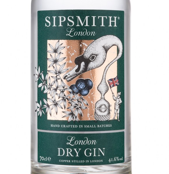 Sipsmith-label
